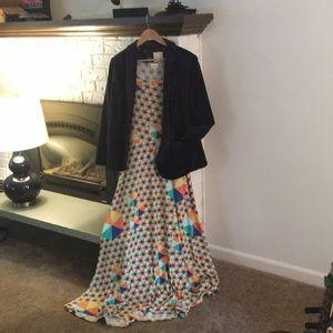 LuLaRoe Ana dress L